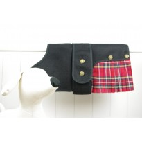 Royal Stewart Tartan Designer Dog Coat-Kilt