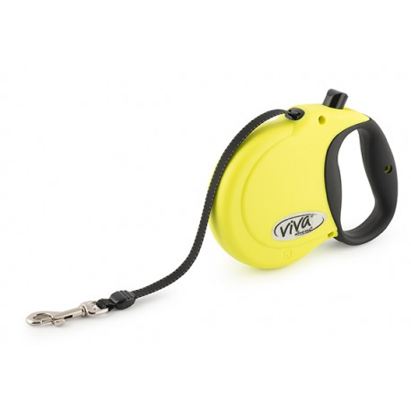 Hi-Vis Viva Retractable Lead - By Ancol