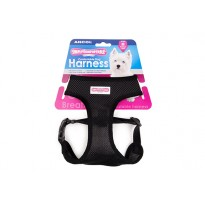 Black Comfort Dog Harness - By Ancol