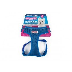 Blue Comfort Dog Harness - By Ancol