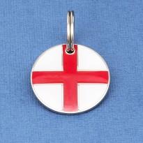 St George Cross Flag Pet Tag