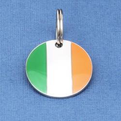 Irish Flag Pet Id Tag