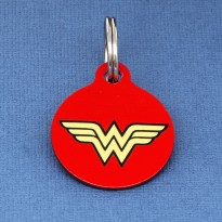 Wonder Woman Pet ID Tag - Medium