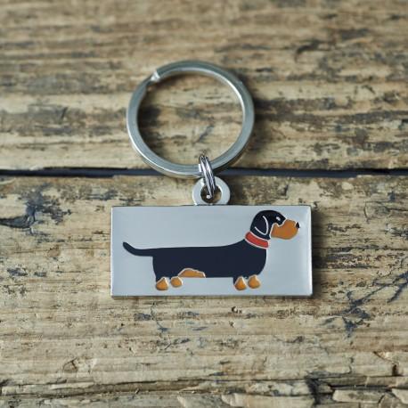 Dachshund Dog ID Tag