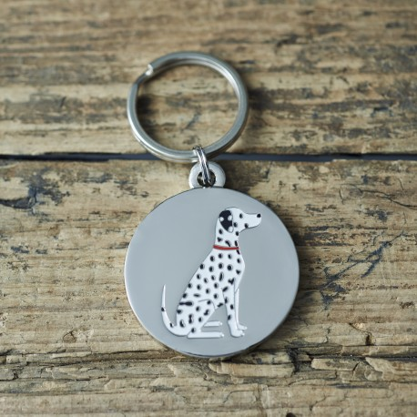 Dalmation Dog ID Tag