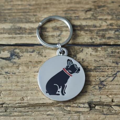 French Bulldog Dog ID Tag