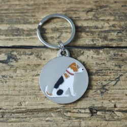Jack Russell Dog ID Tag