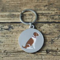 Springer Spaniel Dog ID Tag