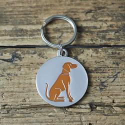 Vizsla Dog ID Tag