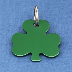 Shamrock Dog Id Tag