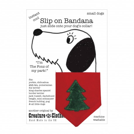 Christmas Tree Bandana