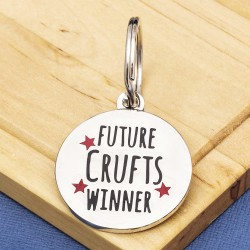 Future Crufts Winner Fun Pet Tag
