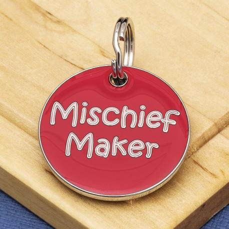 Mischief Maker Dog ID Tag
