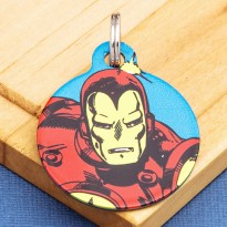 Ironman Pet ID Tag - Medium