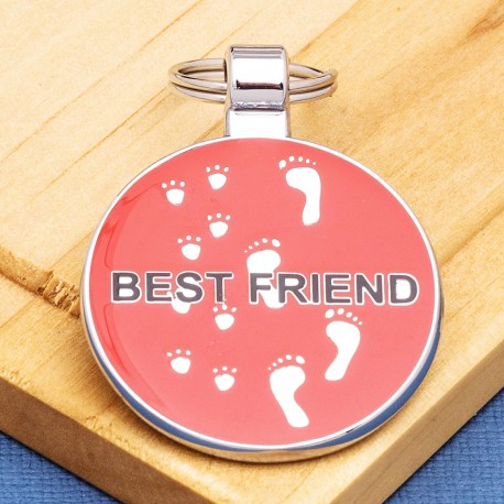 Best Friend Pet ID Tag