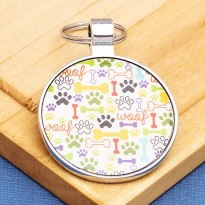 Vibrant Large Pet ID Tag