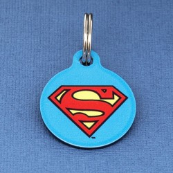 Superman Pet ID Tag - Small