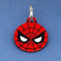 Spiderman Pet ID Tag - Small