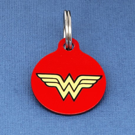 Wonder Woman Pet ID Tag