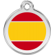 Spanish Flag Pet ID Tag