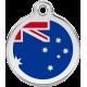 Australian Flag Pet ID Tag