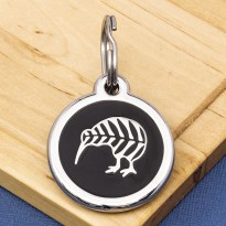 New Zealand Kiwi Pet ID Tag