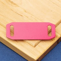 Small Agility Slide On Pet Id Tag Red