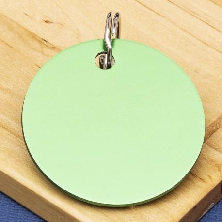 Green Disc Id Tag