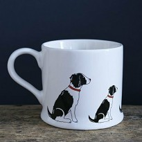 Springer Spaniel Mug (Black and White)