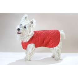 Quilted Dog Coat Zipped