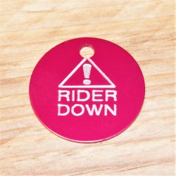 Alert Rider Down Horse Tag