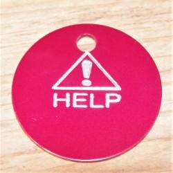 Alert Help Pet Tag
