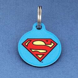 Superman Pet ID Tag