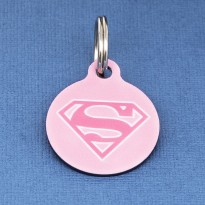 Supergirl Pet ID Tag - Large