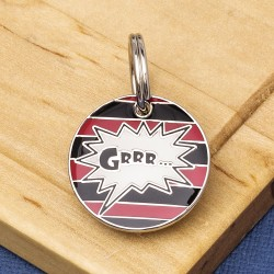 GRRR Pet ID Tag Small