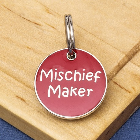 Mischief Maker Small Pet ID Tag