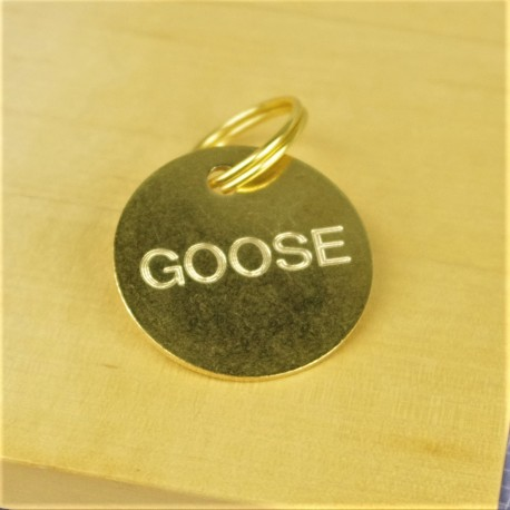 Brass Horse Tack Bridle Saddle Tags Small