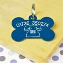 Telephone Number Pet ID Tag