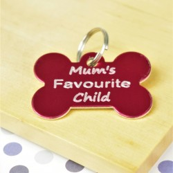 Mums Favourite Child Pet ID Tag