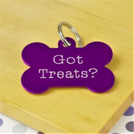 Got Treats? Funny Pet Tag