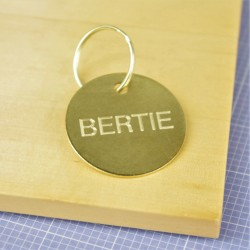 Brass Pet Id Tags Medium