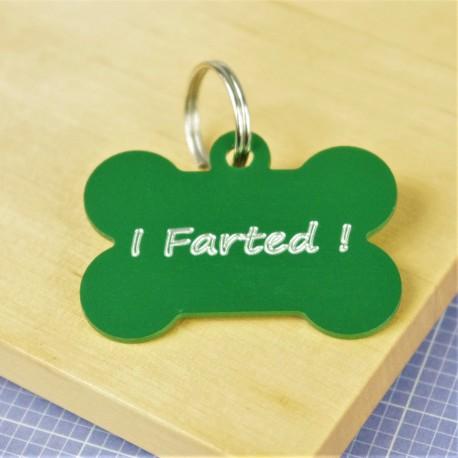 I Farted Pet Tag