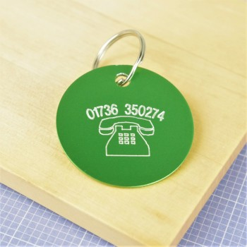 Telephone Number Pet Tag
