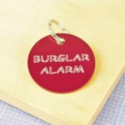 Burglar Alarm Pet Id Tag