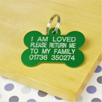 I Am Loved Pet Tag