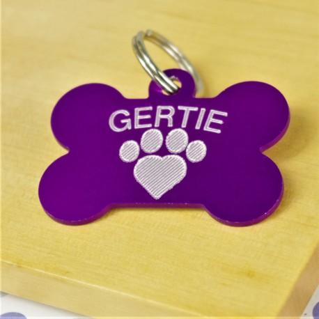 Personalised Bone Pet Tag