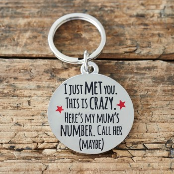 I Just Met You This is Crazy Pet Tag