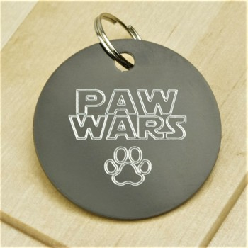 Paw Wars Pet Id Tag