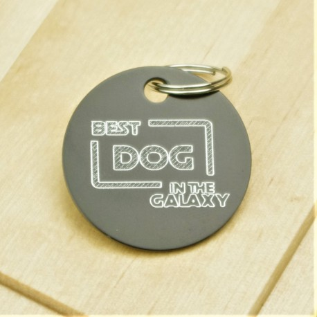 Best Dog in the Galaxy Pet Id Tag