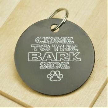 The Bark Side Pet Id Tag